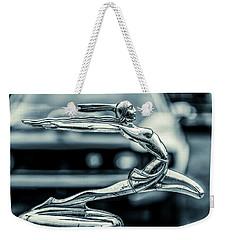 1934 Pontiac Hood Ornament Weekender Tote Bag