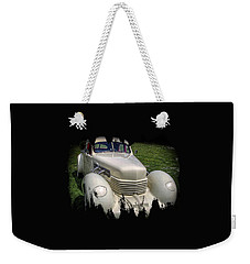 Weekender Tote Bag featuring the photograph 1936 Cord Automobile by Thom Zehrfeld