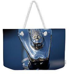 1937 Desoto Hood Ornament Weekender Tote Bag