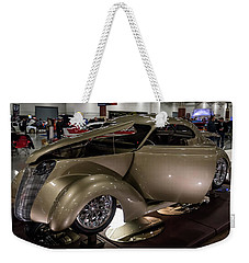 Weekender Tote Bag featuring the photograph 1937 Ford Coupe by Randy Scherkenbach