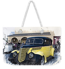 1937 Ford Deluxe Sedan_a2 Weekender Tote Bag