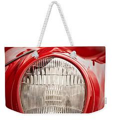 1937 Ford Headlight Detail Weekender Tote Bag