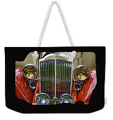 Weekender Tote Bag featuring the photograph 1928 Classic Packard 443 Roadster by Thom Zehrfeld