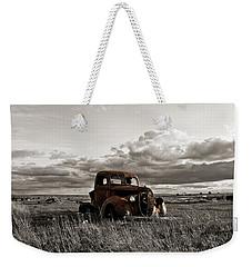 Abandoned Ford Pickup Weekender Tote Bag