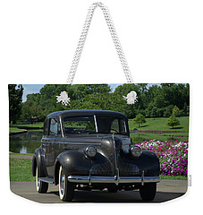 Weekender Tote Bag featuring the photograph 1939 Buick  by Tim McCullough