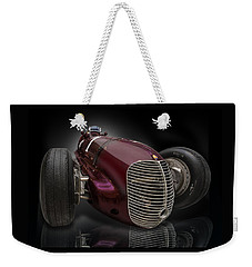 1939 Maserati 8ctf Indy Racer Weekender Tote Bag by Gary Warnimont
