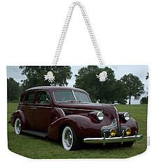 1939 Buick Roadmaster Formal Sedan Weekender Tote Bag