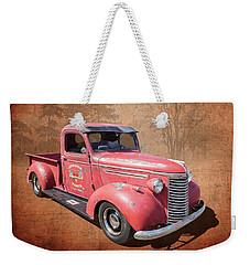 1940 Chevy Weekender Tote Bag