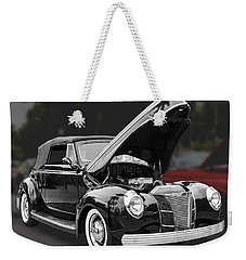 1940 Ford Deluxe Automobile Weekender Tote Bag
