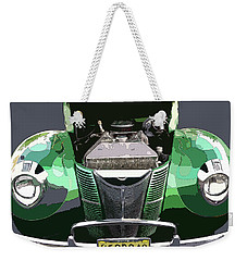 Weekender Tote Bag featuring the photograph 1940 Ford by JoAnn Lense