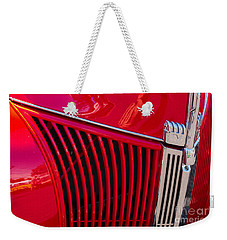 1940 Ford Pickup Grill Weekender Tote Bag