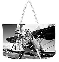 1940 Stearman Biplane Weekender Tote Bag
