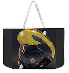 1940s Leather Wolverine Helmet Weekender Tote Bag