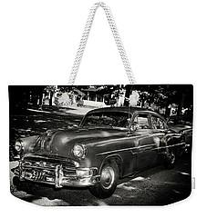 1940s Police Car Weekender Tote Bag