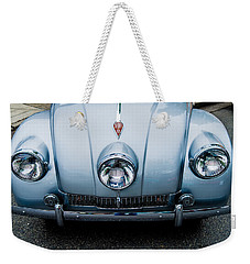 Weekender Tote Bag featuring the photograph 1947 Tatra T87 by M G Whittingham