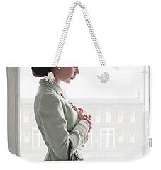 1940s Woman At The Window Weekender Tote Bag by Lee Avison