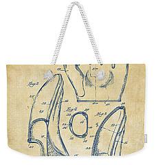 1941 Baseball Glove Patent - Vintage Weekender Tote Bag