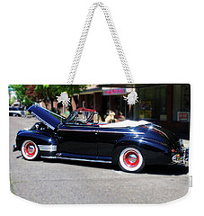 1941  Chevrolet Convertable Weekender Tote Bag