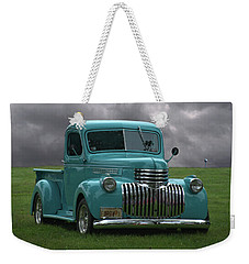 Weekender Tote Bag featuring the photograph 1941 Chevrolet Pickup Truck by Tim McCullough