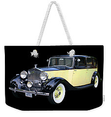 1941 Rolls-royce Phantom I I I  Weekender Tote Bag by Jack Pumphrey