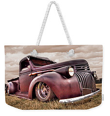 1941 Rusty Chevrolet Weekender Tote Bag