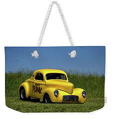 1941 Willys Coupe Weekender Tote Bag