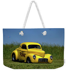 1941 Willys Coupe Weekender Tote Bag by Tim McCullough