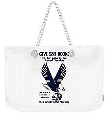 1943 Victory Book Campaign Weekender Tote Bag