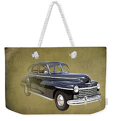 1946 Dodge D24c Sedan Weekender Tote Bag