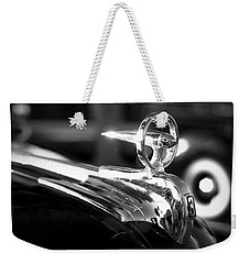 1946 Ford V8 Hood Ornament Weekender Tote Bag