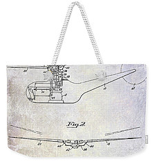1947 Helicopter Patent Weekender Tote Bag