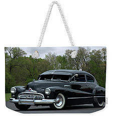 Weekender Tote Bag featuring the photograph 1948 Buick by Tim McCullough