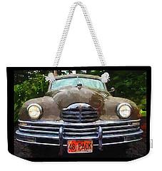 1948 Packard Super 8 Touring Sedan Weekender Tote Bag by Thom Zehrfeld