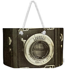 1949 Century Graphic Vintage Camera Weekender Tote Bag
