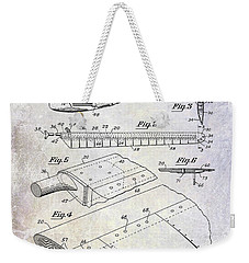 1949 Helicopter Patent Weekender Tote Bag