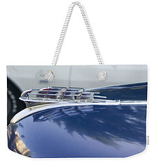 1949 Plymouth Super Deluxe Weekender Tote Bag by Cathy Anderson