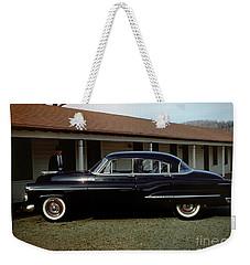 1950 Oldsmobile Futuramic 88 Convertible Weekender Tote Bag