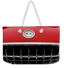 Weekender Tote Bag featuring the photograph 1959 Corvette by M G Whittingham