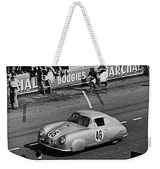 1951 Porsche Winning At Le Mans  Weekender Tote Bag