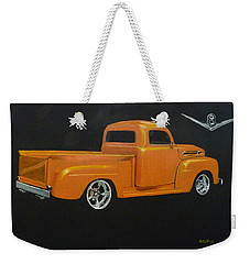 1952 Ford Pickup Custom Weekender Tote Bag
