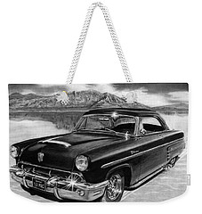 1953 Mercury Monterey On Bonneville Weekender Tote Bag