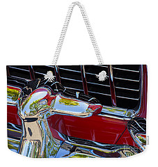 1955 Chevy Coupe Grill Weekender Tote Bag