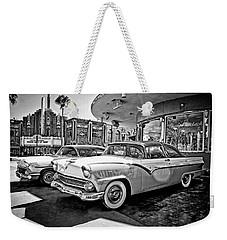 1955 Fairlane Crown Victoria Bw Weekender Tote Bag