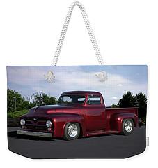 1955 Ford Pickup Weekender Tote Bag