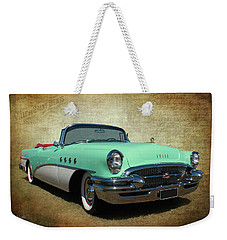 Weekender Tote Bag featuring the photograph 1955 by Keith Hawley