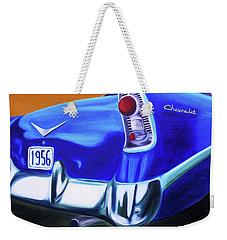 1956 Chevy Weekender Tote Bag