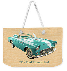 1956 Ford Thunderbird 5510.03 Weekender Tote Bag