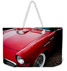 1956 Ford Thunderbird Weekender Tote Bag