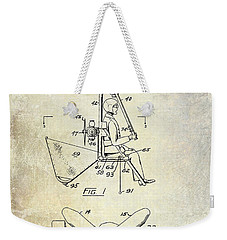 1956 Helicopter Patent Weekender Tote Bag