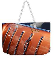 Weekender Tote Bag featuring the photograph 1957 Chevrolet Nomad by Gordon Dean II